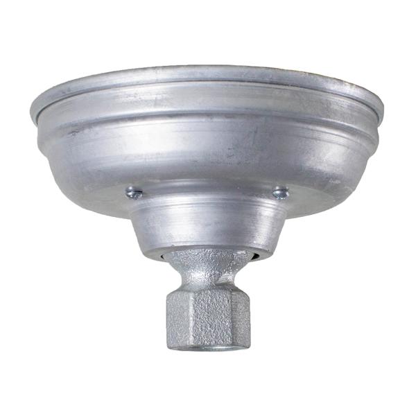 Barn Light Socket: Barn Light - Hang Straight Ceiling Canopy