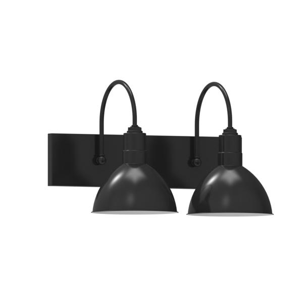 Wesco 2-Light Wall Sconce, Vanity Lighting | Barn Light Electric