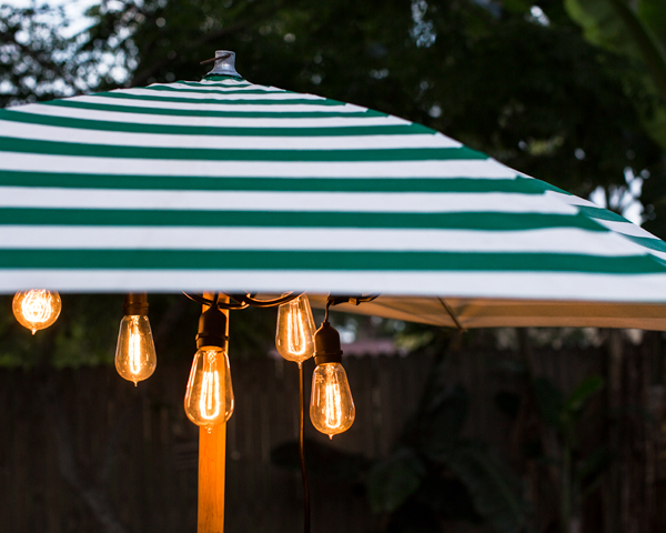 Edison Outdoor String Lights Outdoor cafe string lights barn light electric caf string lights 1890 era 40w edison bulbs workwithnaturefo
