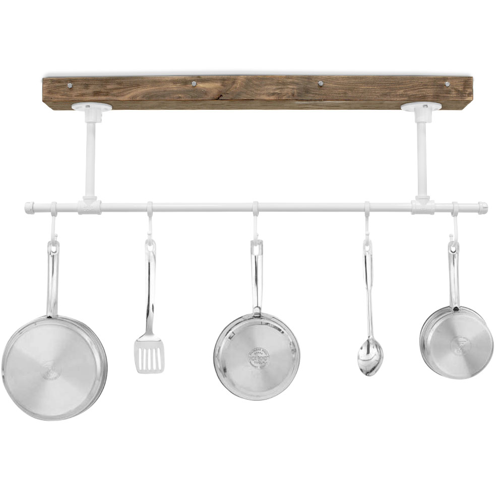 hanging pot rack youtube how make watch to a