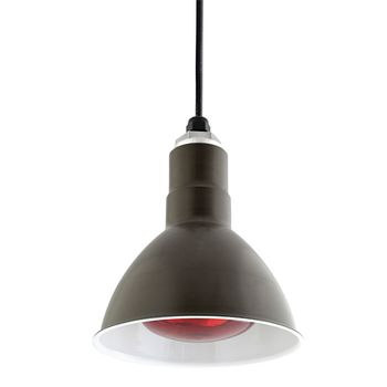 """8"""" Cantina Food Warmer Pendant, 600-Bronze 