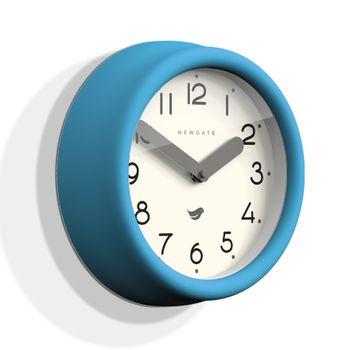 The Pantry Clock, Aqua Blue