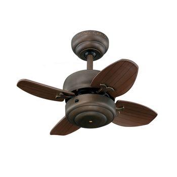 Modi Mini Ceilng Fan, Roman Bronze with Roman Bronze Blades