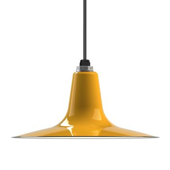 Porcelain Yellow Sterling Deep Cone Shade