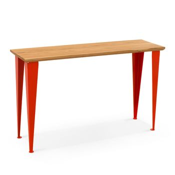June Entryway Table, NH-Natural Hickory, 420-Orange