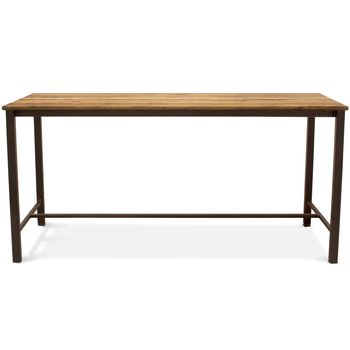 Warner Bar Table, NO-Nutmeg Oak, 601-Chocolate