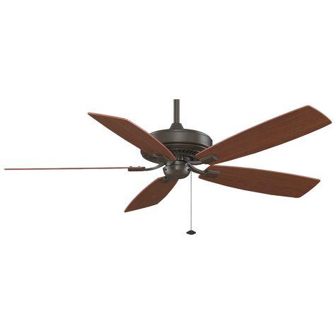 Edgewood Deluxe Ceiling Fan, Oil-Rubbed Bronze