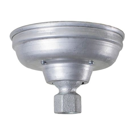 Hang Straight Ceiling Canopy, 975-Galvanized
