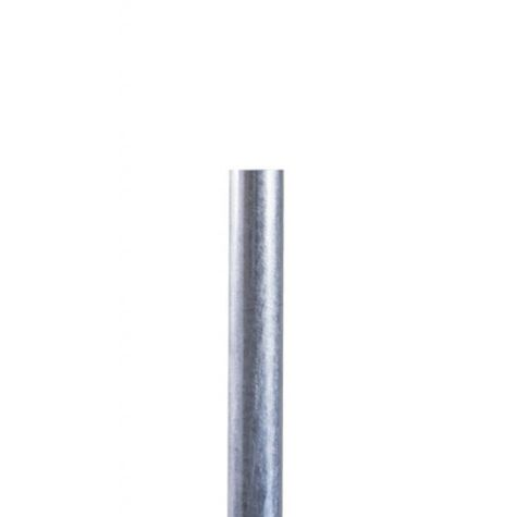 Smooth Direct Burial Pole, 975-Galvanized