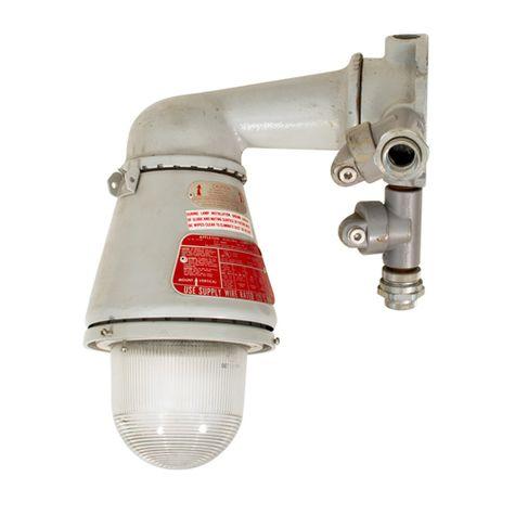 Vintage Appleton® Explosion Proof Light