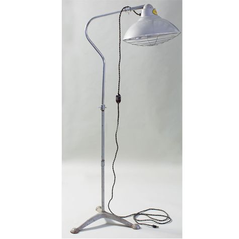 Desert-Air Lamp Co. Vintage Industrial Heat Lamp