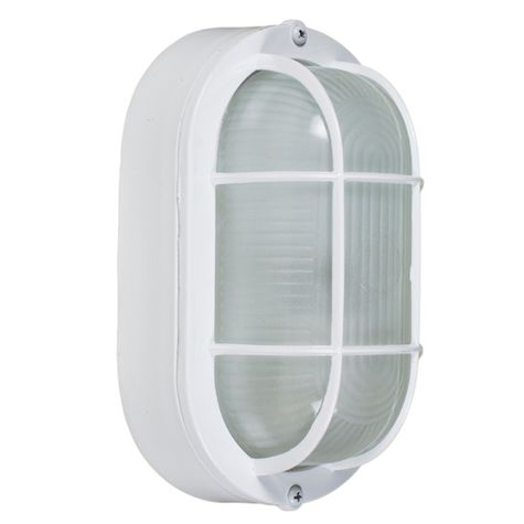 Amidships Bulkhead Wall Mount Light Fixture | Large, 200-White