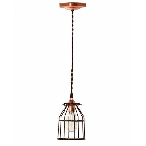 Minimalist Pendant, Nostalgic Edison-Style 1910 Era Bulb