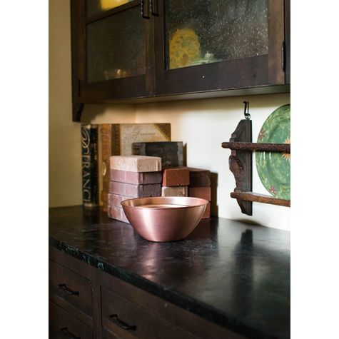 Set of 5 Solid Copper Bowls | Casa Feliz Historic Home Museum, Winter Park, FL