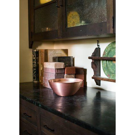 Set of 5 Solid Copper Bowls | Casa Feliz Historic Home Museum, Winter Park, FL