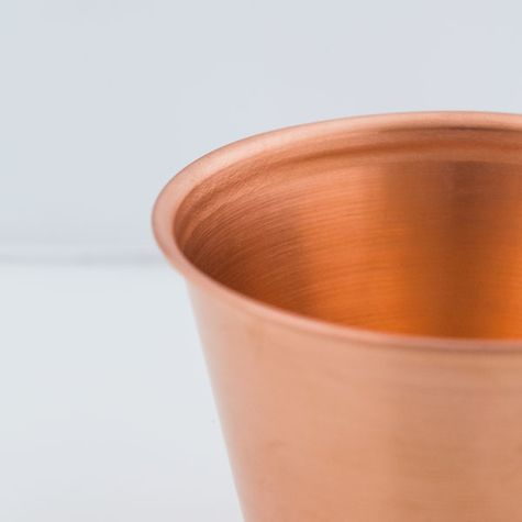 The Moscow Mule Copper Cup - Detail