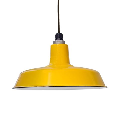 """16"""" Porcelain Yellow Sky Chief Shade"""