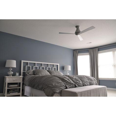 Altus Hugger Ceiling Fan, Brushed Aluminum   Customer Image