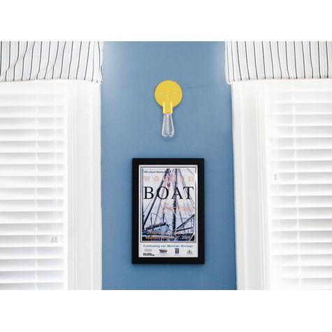 Downtown Minimalist Sconce, 500-Buttery Yellow | Tybee Island, GA