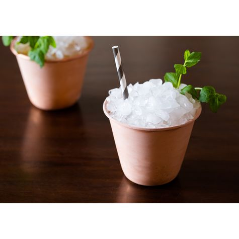 Moscow Mule Copper cup with Mint Julep   Courtesy of A Spicy Perspective