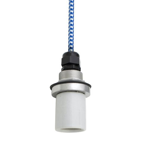 Socket with CSUW-Blue & White Cloth Cord