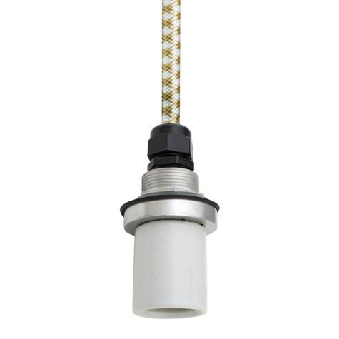 Socket with CSGW-Gold & White Cloth Cord