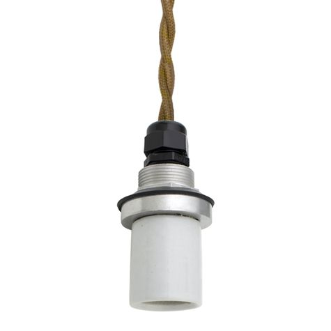Socket with TPT-Putty Cotton Twist Cord