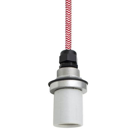 Socket with CRZ-Red Chevron Cord