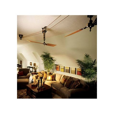 Brewmaster Belt Driven Ceiling Fan