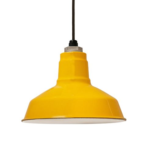 Porcelain Yellow Dino Shade