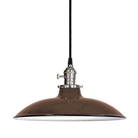 "12"" Porcelain Bronze Sinclair Shade"