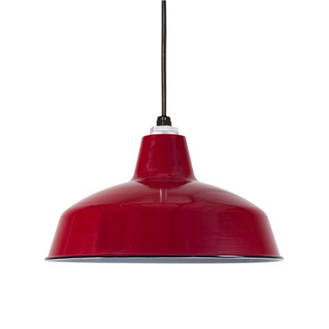 Porcelain Cherry Red Avalon Shade