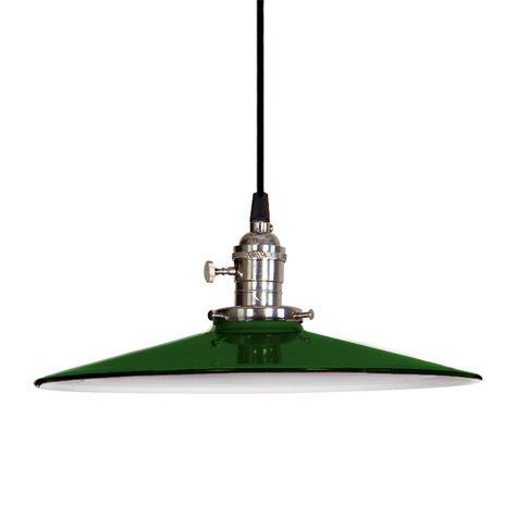 """10"""" Conoco, 350-Vintage Green"""