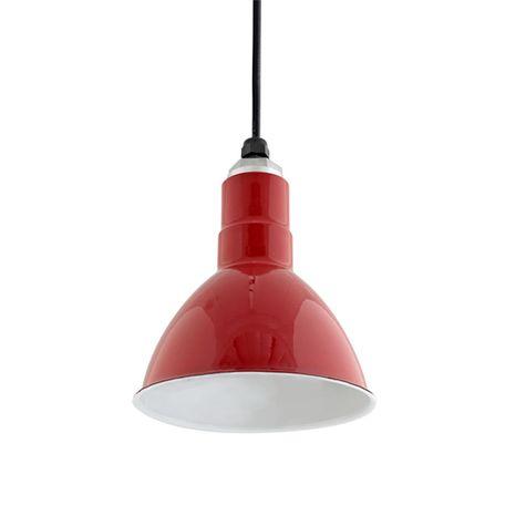 Deep Bowl Shade, 455-Cherry Red