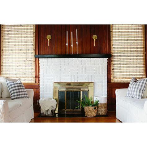 Downtown Minimalist Sconce, 997-Raw Brass, Hairpin 30w Edison-Style Bulb