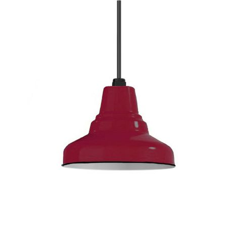 Porcelain Cherry Red Union Shade, No Hex