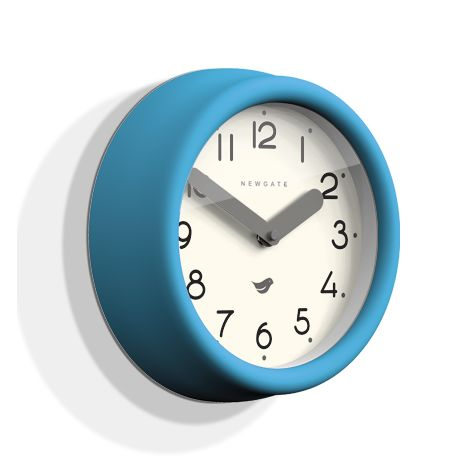 The Pantry Clock, Aqua Blue