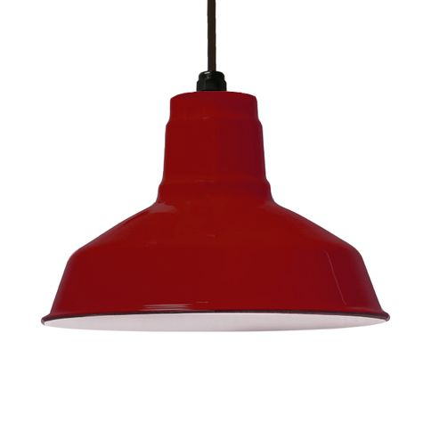 Porcelain Cherry Red Dino Shade, No Hex