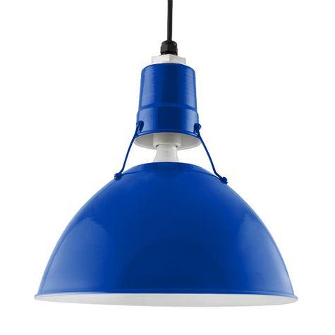 "14"" Wesco Uplight, 700-Royal Blue, SBK-Standard Black Cord"