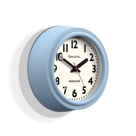 Telectric Clock, Egg Blue