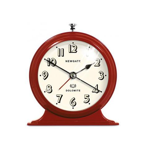Dolomite Alarm Clock  | Gloss Red