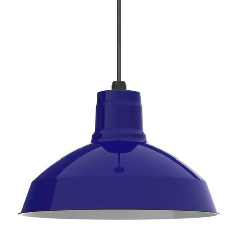 Porcelain Cobalt Blue Dino Shade, No Hex