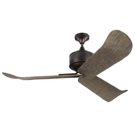 Dylan Ceiling Fan, Aged Pewter with Weathered Oak Blades