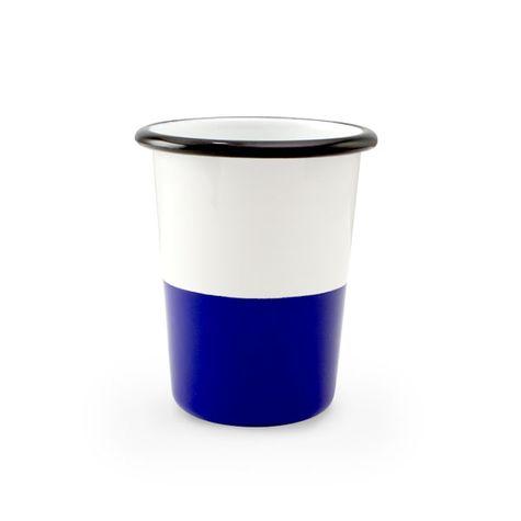 12 oz. Enamel Dipped Tumbler, 750-Cobalt
