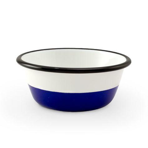 Enamelware Dipped Bowls, 750-Cobalt
