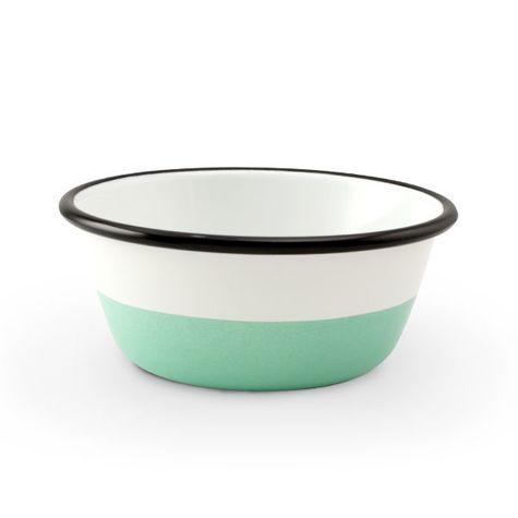 Enamelware Dipped Bowls, 355-Jadite