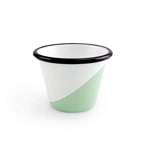 Enamel Dipped Cup, 355-Jadite
