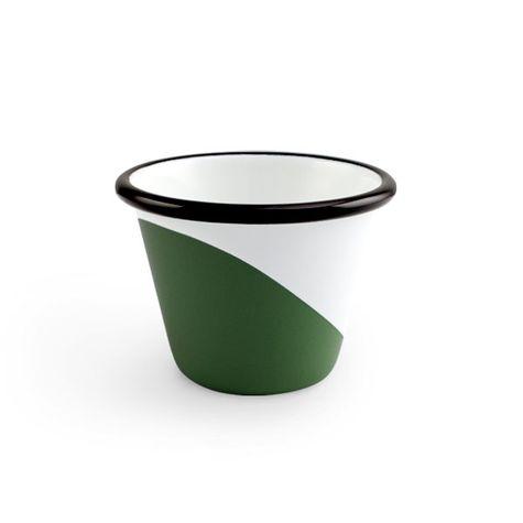 Enamel Dipped Cup, 350-Vintage Green
