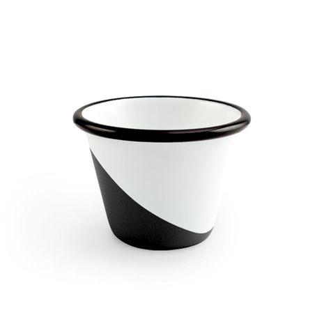 Enamel Dipped Cup, 150-Black