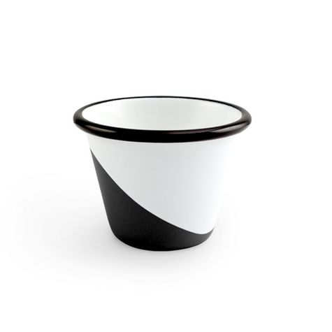Enamel Dipped Cup, 150-Black